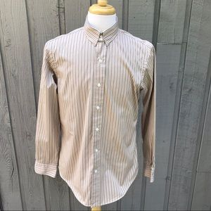 Polo Ralph Lauren Tan Striped Shirt